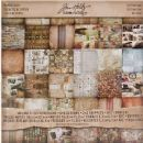 "TH93004 Tim Holtz® Idea-ology™ | Paperie 12"" x 12"" Paper Stack - Destinations"